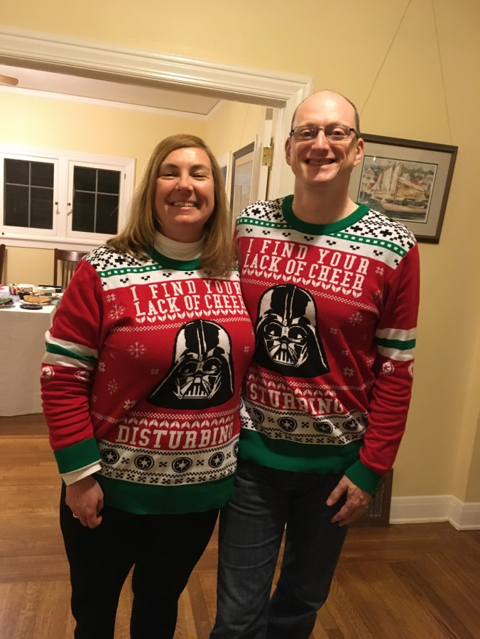 holiday ugly sweaters